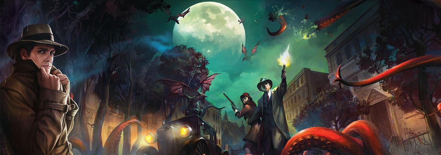 Fantasy Flight Games - Horreur à Arkham : Le Jeu de Cartes