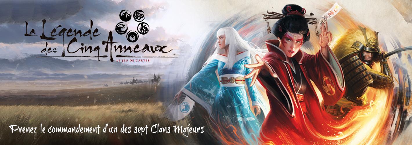 Fantasy Flight Games - La Légende des Cinq Anneaux : Le Jeu de Cartes