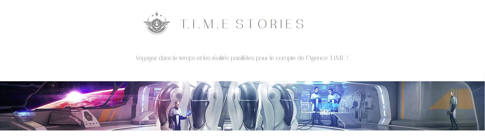 Space Cowboys - Time Stories Cycle Blanc
