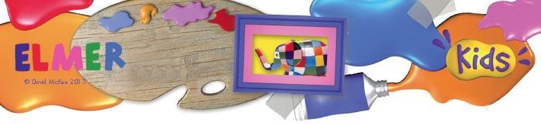 Figurines Plastoy - Elmer (David McKee)