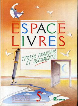 Nathan Espace Livres Textes Francais Et Documents Manuel 5eme