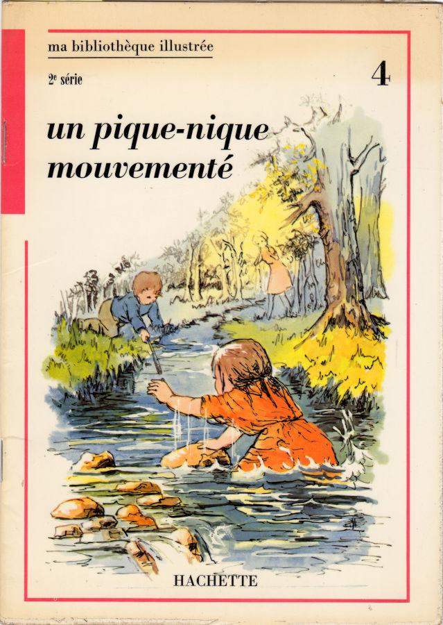 Hachette Ma Bibliotheque Illustree 2eme Serie Rouge 4 Un Pique Nique Mouvemente