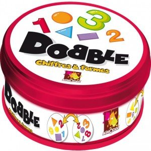 Dobble - Jeu Asmodee - Dobble Chiffres et Formes - CYBERSFERE.COM cfb981edfb98