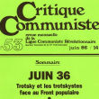 Critique Communiste (LCR)